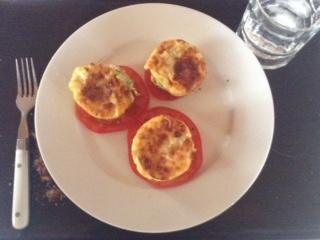 quiche w: tomato