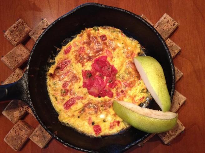 Basquaise Omelette