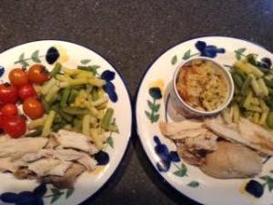 Chicken Dinner for 2