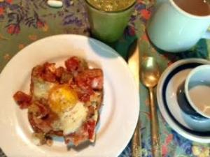 Ratatouille Egg-toast