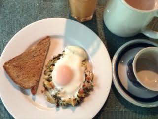 Zucchini Nests w: Egg