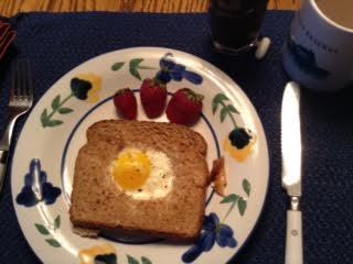 Buttermilk Baked Egg w: S-b