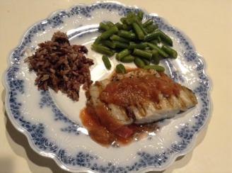 grilled-bluefish-w-rhubarb-sauce-aust-riesling