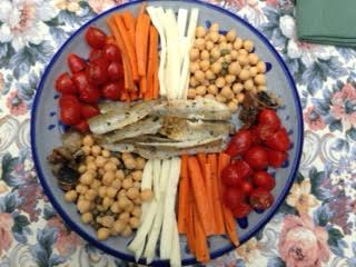 Meze w: smelts for TWO