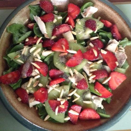 Strawberry-Chicken Salad