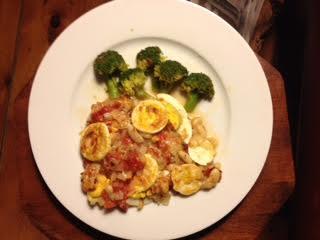 Tomato-Egg Casserole