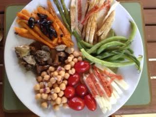 Meze Meal w: chicken copy