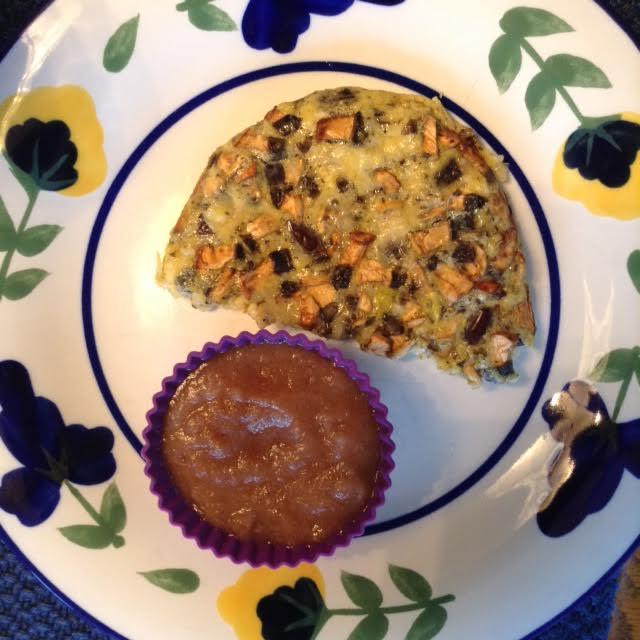 O-M-C Bake w: applesauce