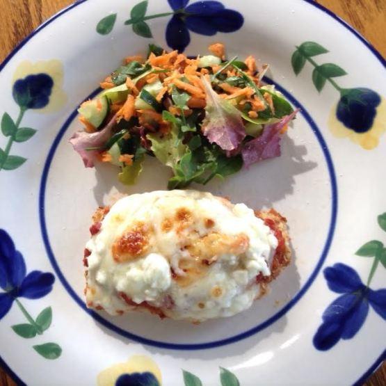 Chicken Parmesan w: salad