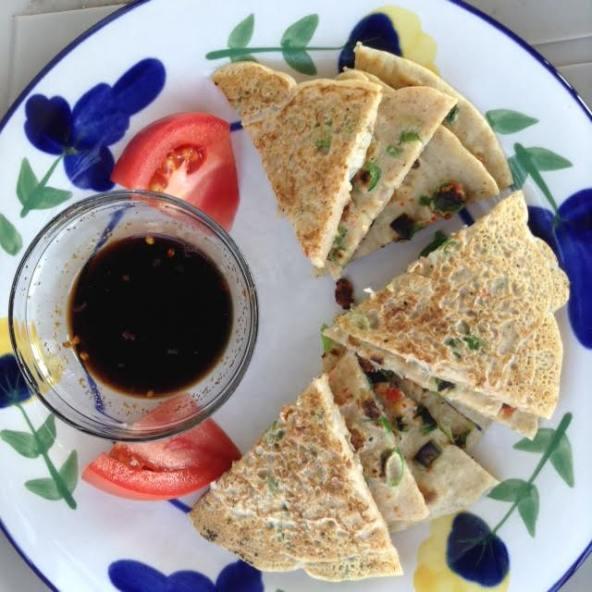 Korean Pancakes, Haemul Pajeon