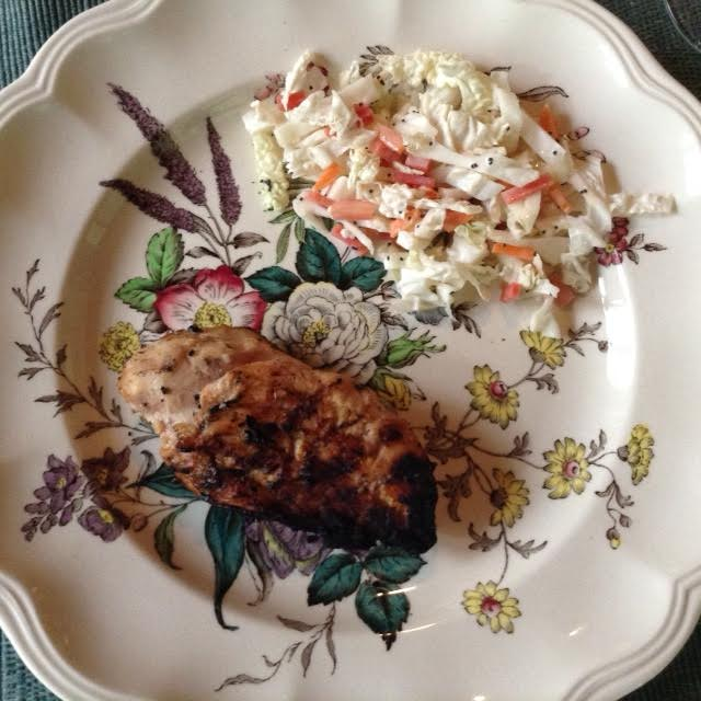 Lime Chicken w: coleslaw