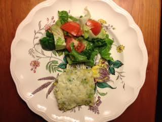 Rumbledeethumps w: salad