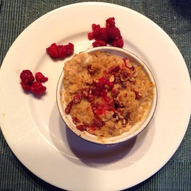 Ten-grain Pudding w: R-bs