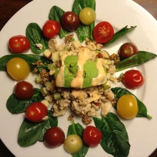Senegalese Tuna:Avocado Salad