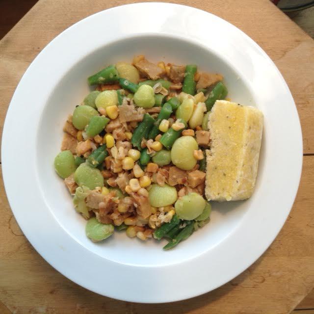 Original Succotash w: Corn Mush