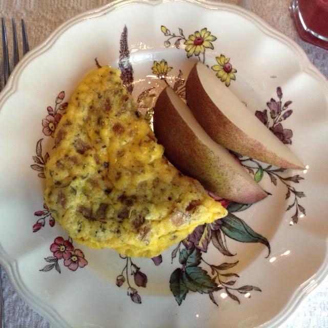 Charcuterie Bake w: pears