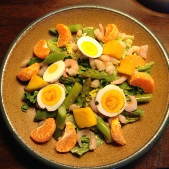 Springtime Shrimp Salad