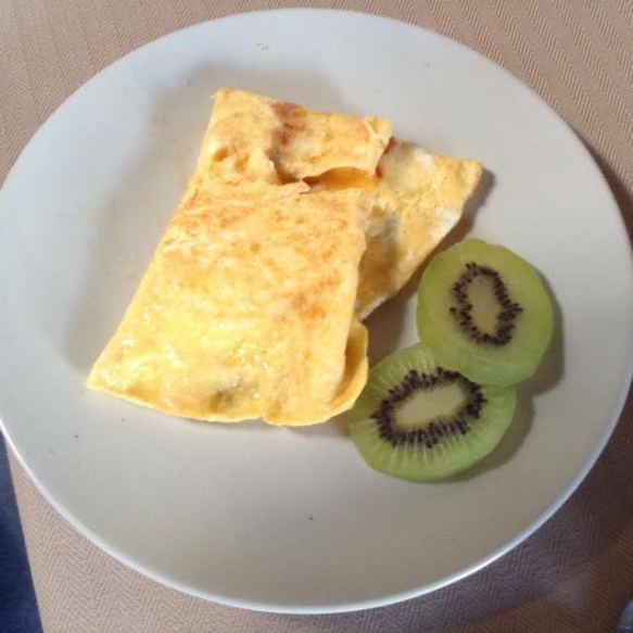 Azorean Cheese ScrOmelette
