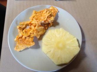 Azorean-flavor Eggs w: pineapple