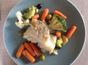 Cod w: Veg Left-over