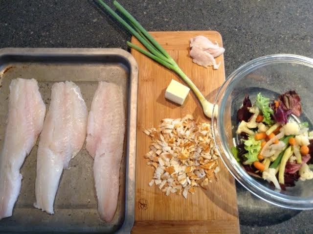 stuffed haddock, ingredients