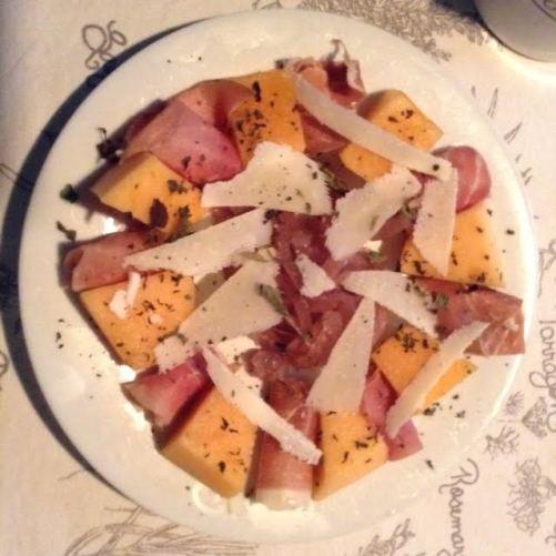 Prosciutto-Melon Plate