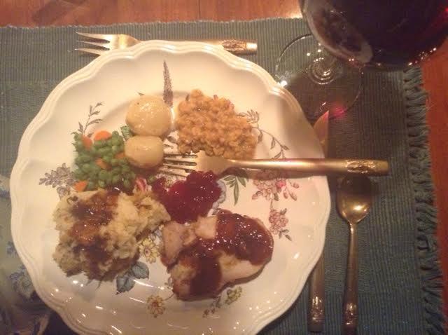 Turkey Rouldad, plated