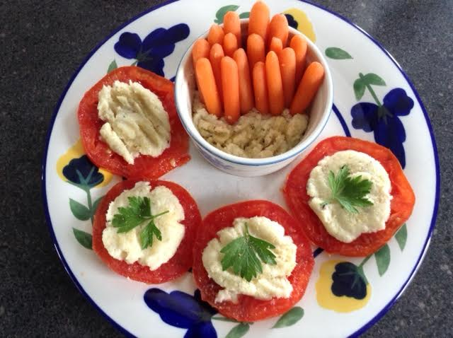 Brandade w: tomatoes & Carrots
