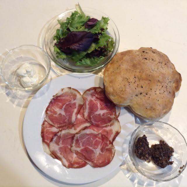 Florentine Sandwiches, mise