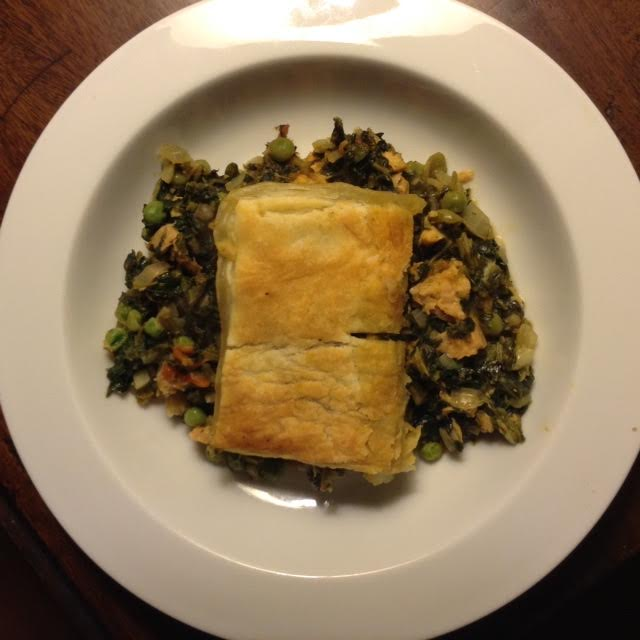 maltese spinach-tuna pie