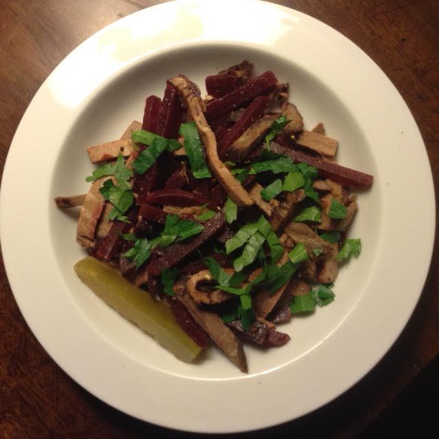 Beet & Beef Salad
