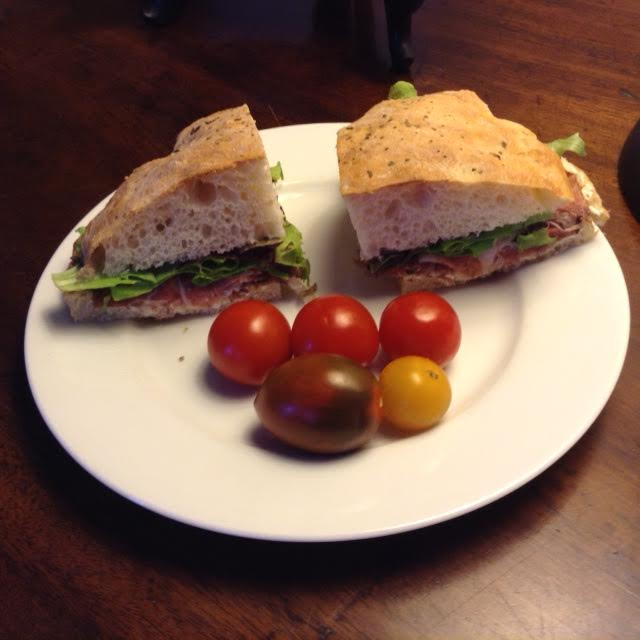 Florentine Sandwiches, plated