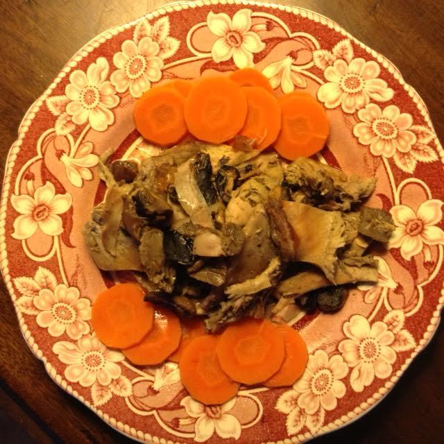 Rabbit Pie, plated