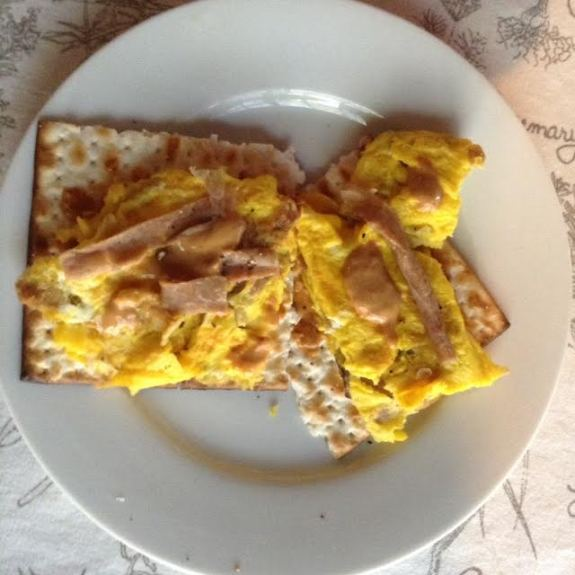 Reuben Matzo Eggs