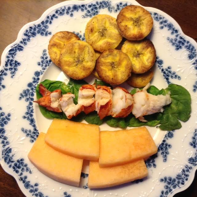 Lobster Lambi w: plantains